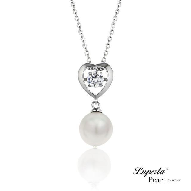 【大東山珠寶】廝守一生 Akoya日本海水珍珠項鍊 925銀 8.5-9mm(日本Akoya珍珠)