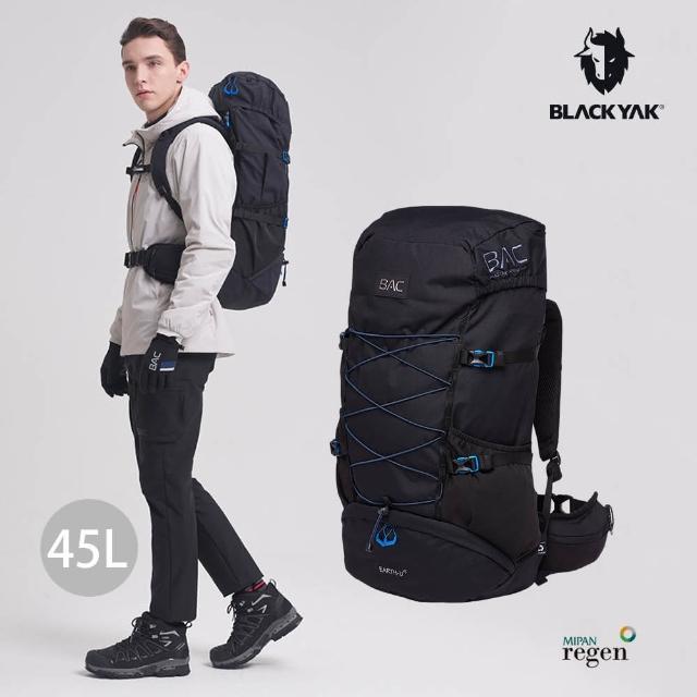 【BLACK YAK】BAC EARTH 45L登山背包[黑色]BYAB1NBF02(韓國 後背包 登山包 45L)