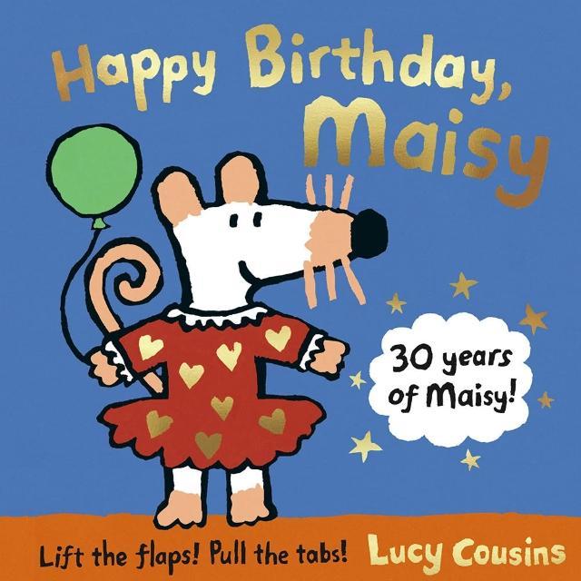 【Song Baby】Happy Birthday Maisy 小鼠波波的生日派對操作書