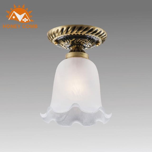 【Honey Comb】古典花朵造型吸頂燈(BL-31857)