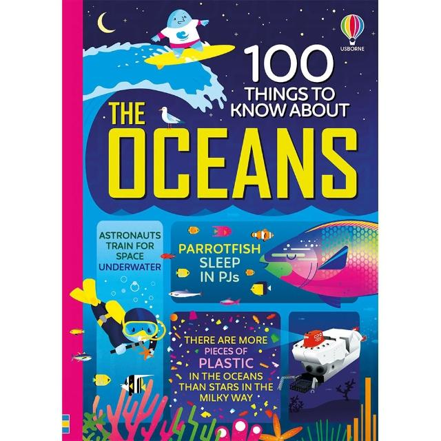 【Song Baby】100 Things To Know About The Oceans 海洋的100個知識書