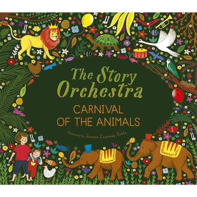 【Song Baby】The Story Orchestra:Carnival Of The Animals 聖桑動物狂歡節音樂故事有聲繪本