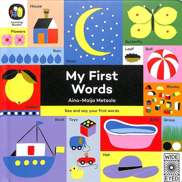 【Song Baby】My First Words 我的第一本單字書(硬頁書)