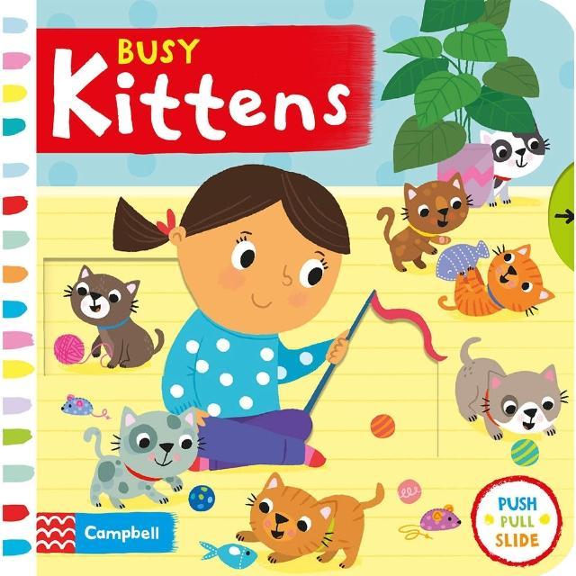 【Song Baby】Busy kittens 忙碌的貓咪(操作書)