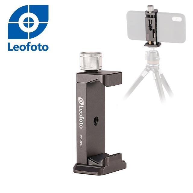 【Leofoto 徠圖】二代相機專用手機夾PC-90II[阿卡標準底座](彩宣總代理)