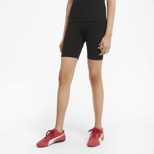 【PUMA】短褲 女款 運動 緊身7吋短褲 慢跑 健身 黑 53023401