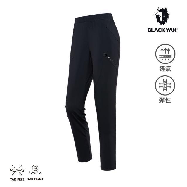 【BLACK YAK】女 TRACK運動長褲[黑色]BYAB1WP208(韓國春夏 長褲 女長褲)
