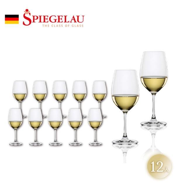 【Spiegelau】德國WINELOVER/紅酒杯/白酒杯/12入/彩盒裝(500年德國無鉛水晶玻璃酒杯)