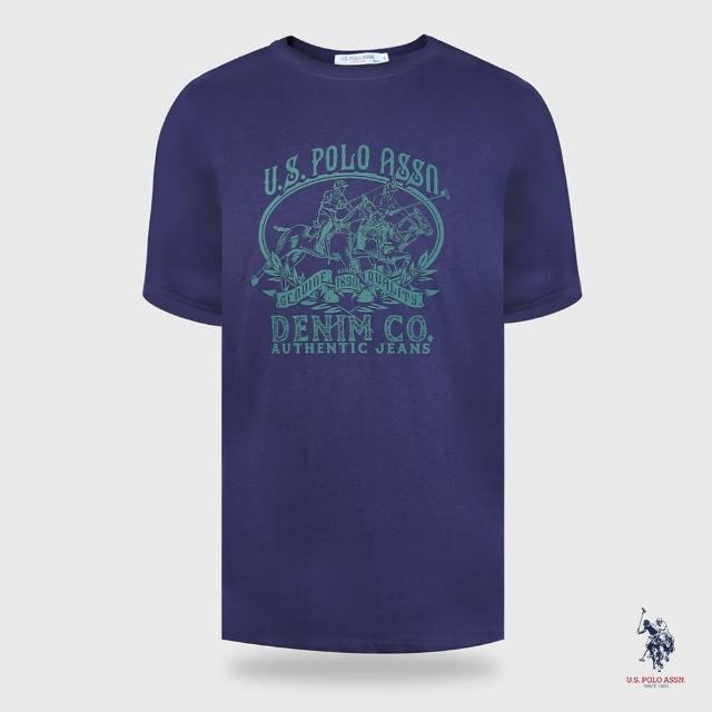【U.S. POLO ASSN.】經典圖案短袖T恤-兩色(熱銷經典)