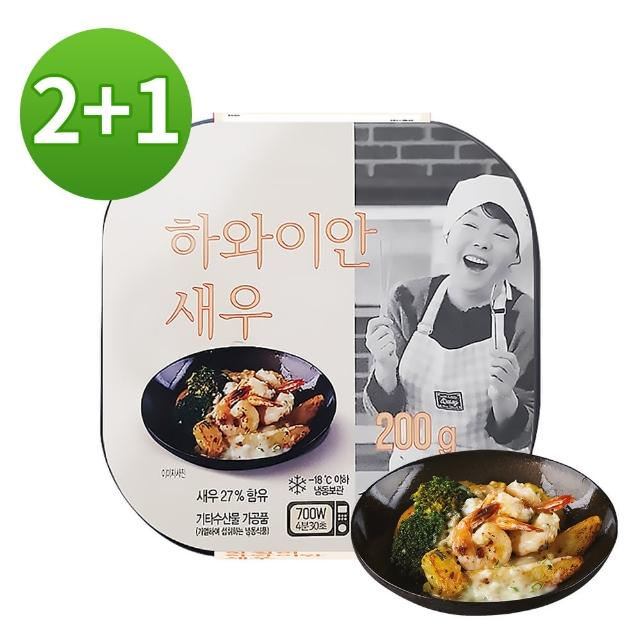 【韓味不二】金守美即食鳳梨蝦 2入組(200g/盒*2盒)