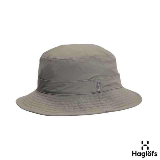 【Haglofs】Solar IV Hat 防潑水 透氣 遮陽漁夫帽(白鯨色)