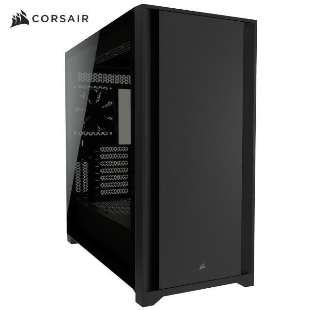 【CORSAIR 海盜船】5000D 電競機殼(鋼化玻璃)