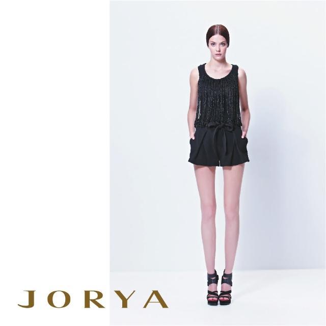 【JORYA】13TD101低調閃閃編織無袖針織上衣