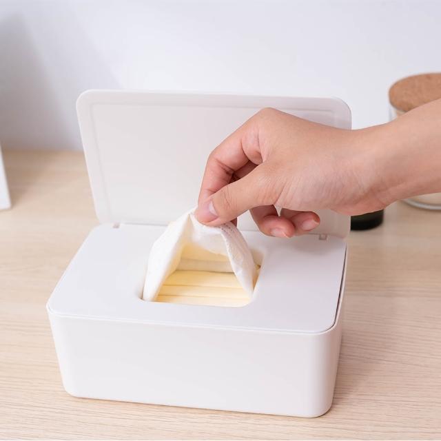 抽取式防塵口罩收納盒 衛生紙收納盒(多功能收納盒)