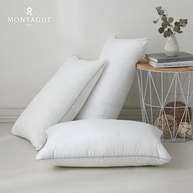 【MONTAGUT 夢特嬌】PLUS超柔水洗好眠枕(買一送一)