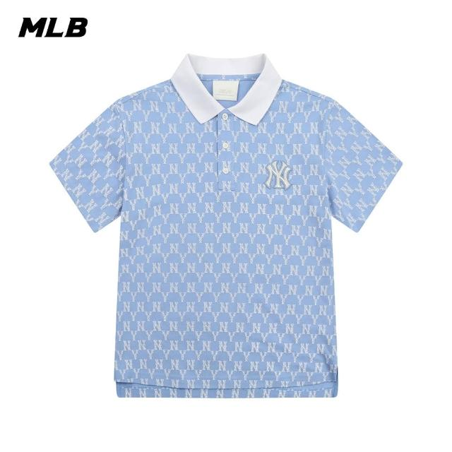 MLB【MLB】Polo衫 短袖 老花Monogram系列 紐約洋基隊(31TSQM131-50S)
