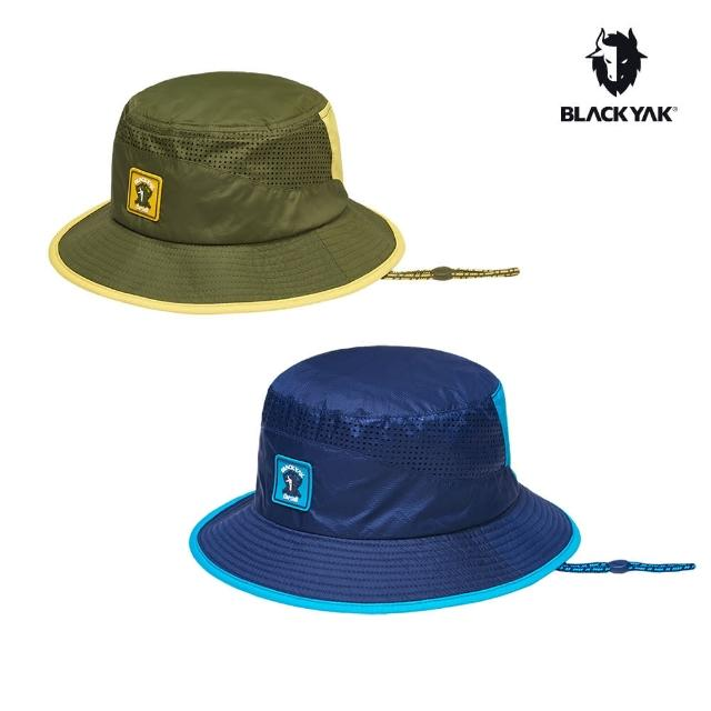 【BLACK YAK】童PICNIC防曬漁夫帽[橄欖綠/海軍藍]BY181KAF01(韓國春夏 防曬漁夫帽 兒童帽)