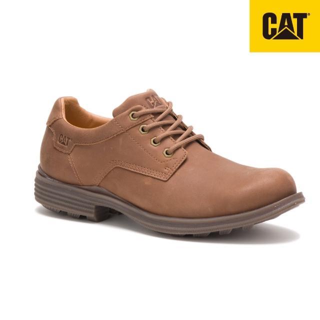 【CAT】ELLISTON 經典紳士休閒皮鞋(CA723687)
