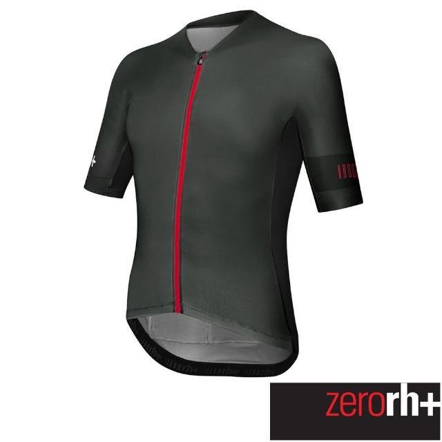 【ZeroRH+】義大利SPEED系列男仕專業自行車衣(灰色 ECU0756_515)