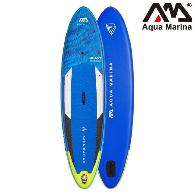 【Aqua Marina】BT-21BEP 充氣立式划槳-進階型 Beast(立槳、划槳、獨木舟、立式划槳)