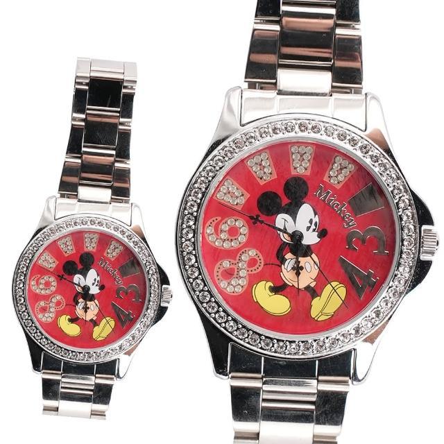【TDL】迪士尼米奇施華洛世奇鑽手錶情人禮物 16-015