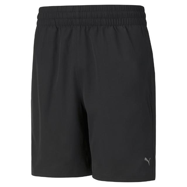 【PUMA】短褲 男款 運動短褲 慢跑 健身 7吋風褲 黑 52031801