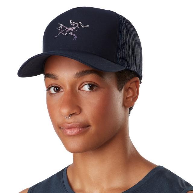 【Arcteryx 始祖鳥】Polychrome 網布 混棉 棒球帽(夜月藍)