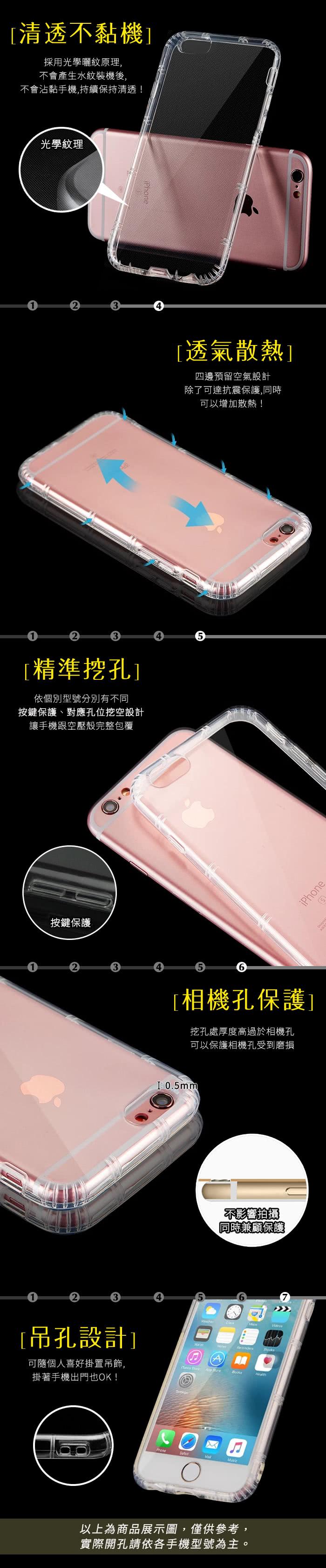iphone4不卅��[��_年輕人必選!!!【YANGYI揚邑】AppleiPhone7Plus氣囊式防撞耐磨不黏