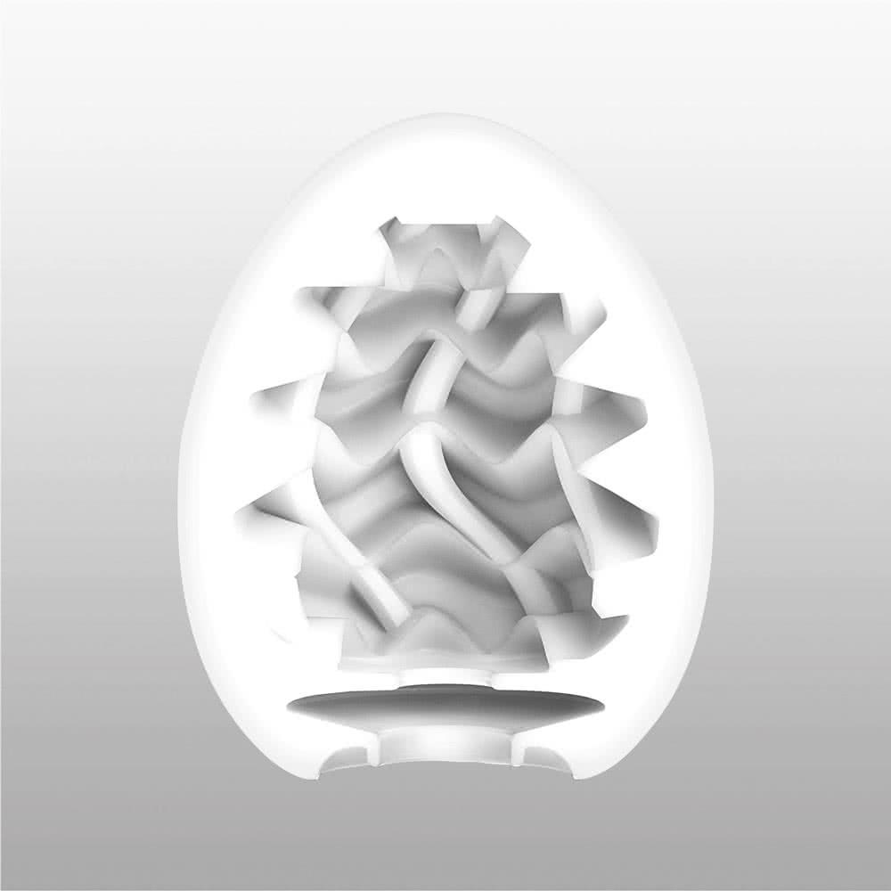 Tenga10tenga Egg New Standard Momo Tenga Wavy 014
