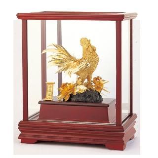 【開運陶源】ON SALE!六折 開運陶源  立體金箔櫥窗~金雞報喜