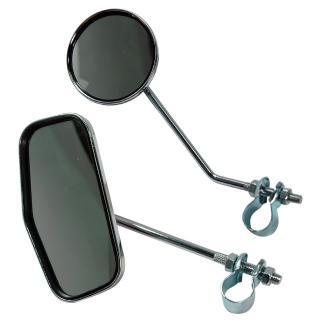 【SAPIENCE】自行車亮銀後照鏡