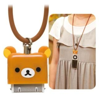 San-X 懶熊臉型系列iPhone/iPod隨身帶-懶熊