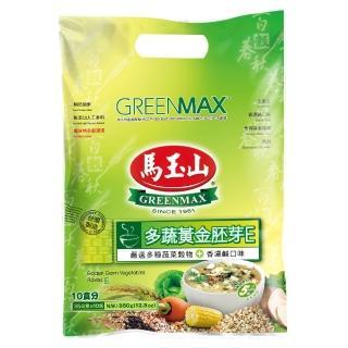 【馬玉山】多蔬黃金胚芽E(35g*12小包/袋)