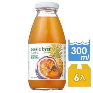 【Bessie Byer】貝思寶兒熱帶水果汁300ml*6罐