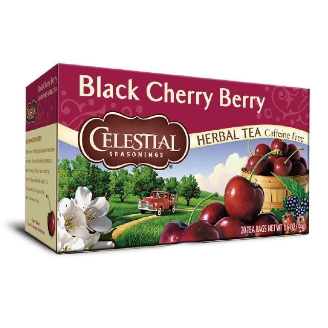 【Celestial 詩尚草本】美國原裝進口 黑櫻桃莓果茶(20環保包)