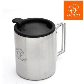 【步林BULIN】環保攜帶式不鏽鋼杯/露營杯/野營杯(220ml)