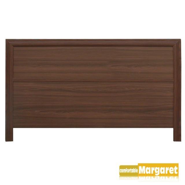 【Margaret】極簡條飾木質床頭片-單人3.5呎/