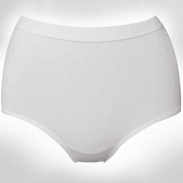 【華歌爾】新伴蒂-S型 中腰M-LL機能內褲2入(純淨白)