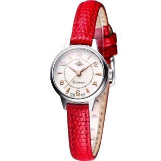 【玫瑰錶 Rosemont】骨董風玫瑰系列時尚腕錶(TRS1-09-RD)