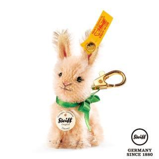 【STEIFF德國金耳釦泰迪熊】Dormy Rabbit  兔子吊飾(羊毛吊飾)