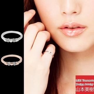 【山本美樹】心鑽相印 地利水晶 戒指(共兩色)