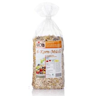 【VIOLA 麥維樂】德國綜合穀粒穀片-天然亞麻子添加(1000g)