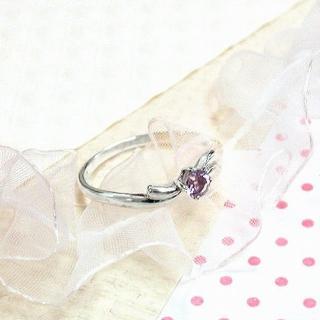 【伊飾童話】炫紫丁香*四爪純銀戒