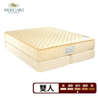 【MUSGARI瑪格麗】瑪爾斯 獨立筒 彈簧床墊-雙人5尺(送羽絲絨被)