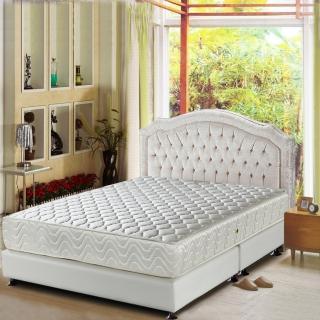 【睡芝寶-頂級天然乳膠抗菌+防潑水-蜂巢式獨立筒床墊-雙人】
