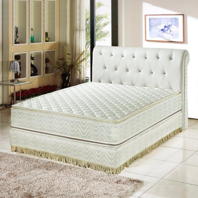 【睡芝寶】正四線3M防潑水+護邊強化蜂巢式獨立筒床墊(雙人5尺-護腰床-正反可睡)/