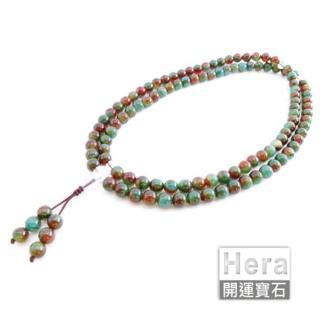 HERA特選三彩玉髓唸珠套組/108顆(網)