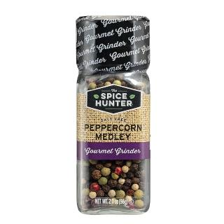 【Spice Hunter 香料獵人】美國原裝進口 研磨綜合胡椒粒(56g)