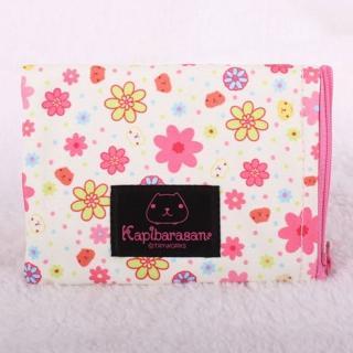 【Kapibarasan】水豚君花舞祭系列票夾收納包