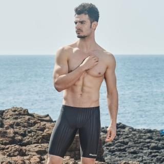 【≡MARIUM≡】泳褲 男生泳褲 大男競賽型馬褲-壓條/鯊魚褲(MAR-8105)